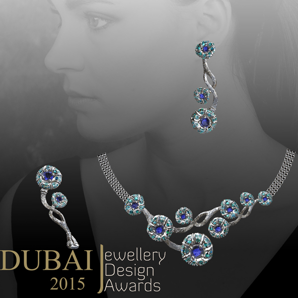 AndreaKoenig_ Dubai 2015 Finalist_ Necklace_Earrings_Brooch