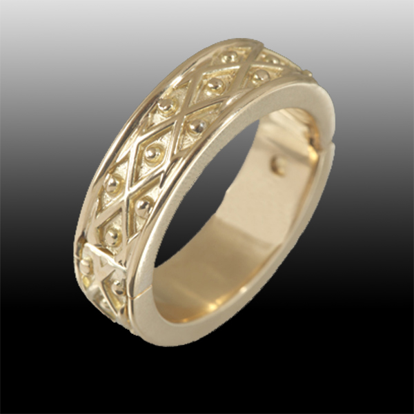 Classic Wedding ring hinged_600