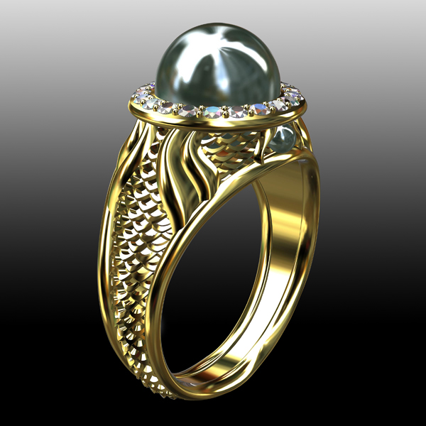 R_Koenig_Black Pearl Ring 1 GRADUATED