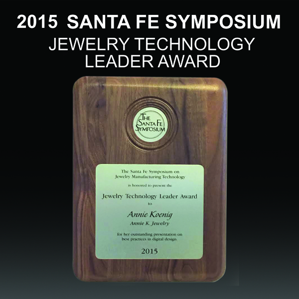 Andrea Koenig_2015 SantaFeSymposium Jewelry Technology Award600