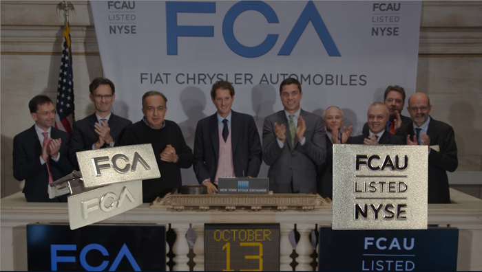 FCA IPO stock exchange dark a